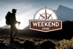The weekend store logo