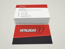 metalurgicaLf papeleria tarjetas