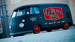 The music store loteo vehicular