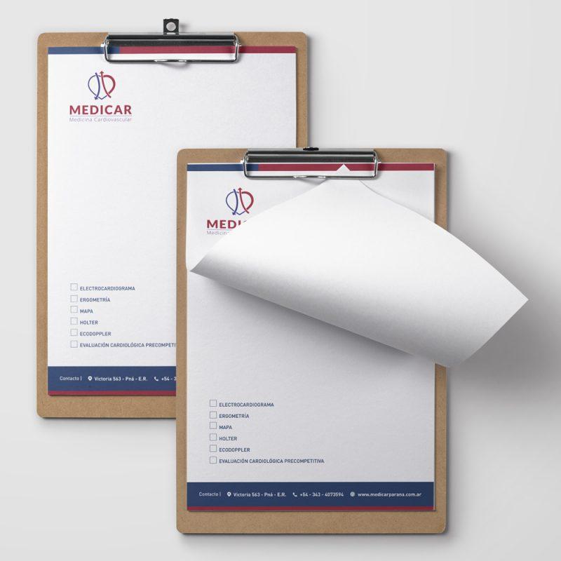 Medicar papelería recetarios