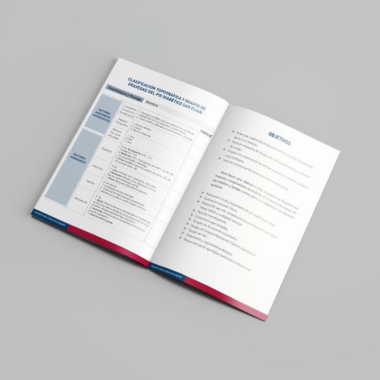 Medicar Cuadernillos diseño gráfico