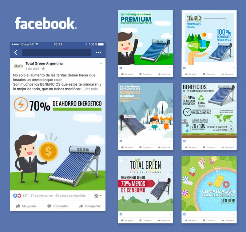 Total Green Facebook Redes Sociales