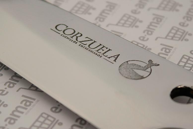 Corzuela Cuchillos Entrerrianos logo diseño gráfico