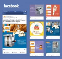 Schepens publicaciones facebook Redes Sociales