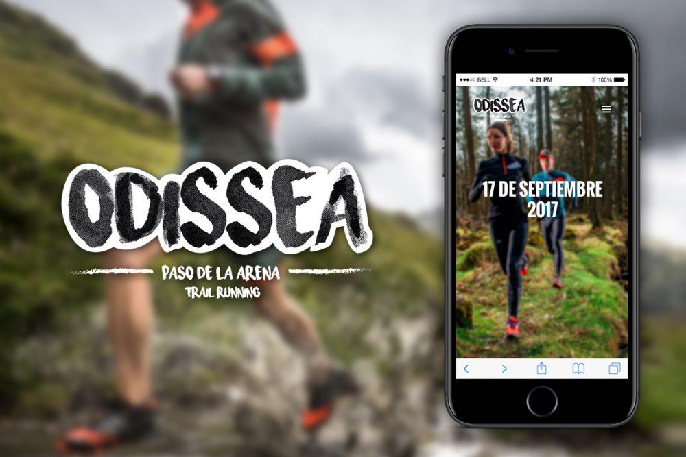 Odissea Trail Running carrera Paso de la Arena 8k 16k 27k