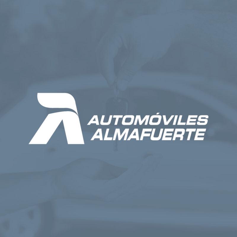Automóviles Almafuerte diseño logo Minds Estudio