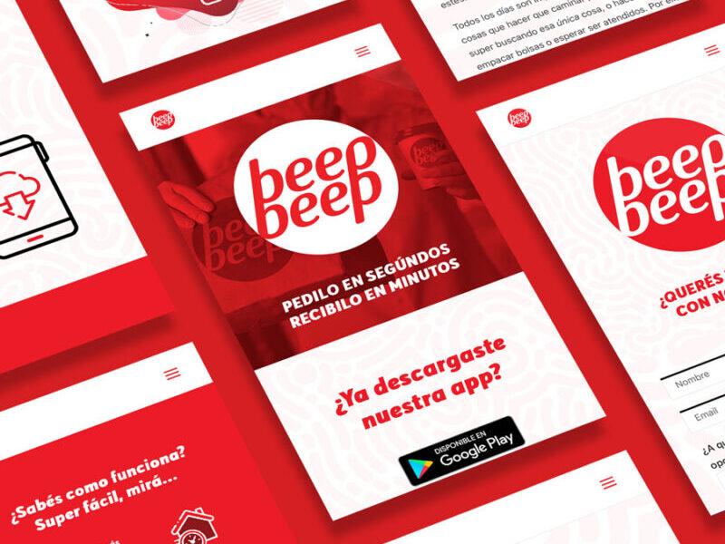 beepbeep diseño web minds estudio