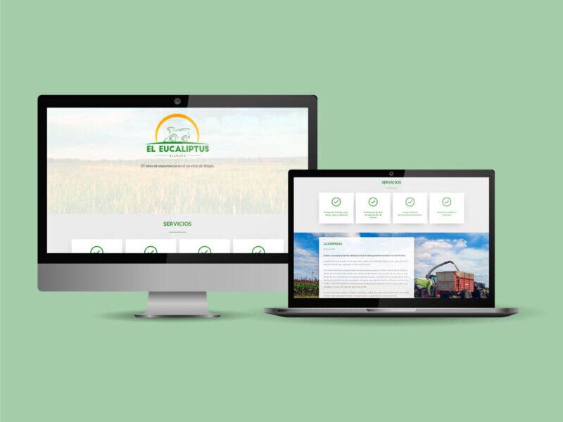 El Eucaliptus Silajes diseño sitio web Minds Estudio