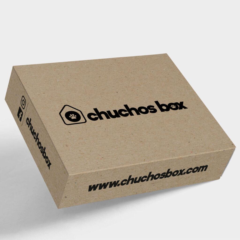 Chuchos Box diseño de packaging para envío de productos