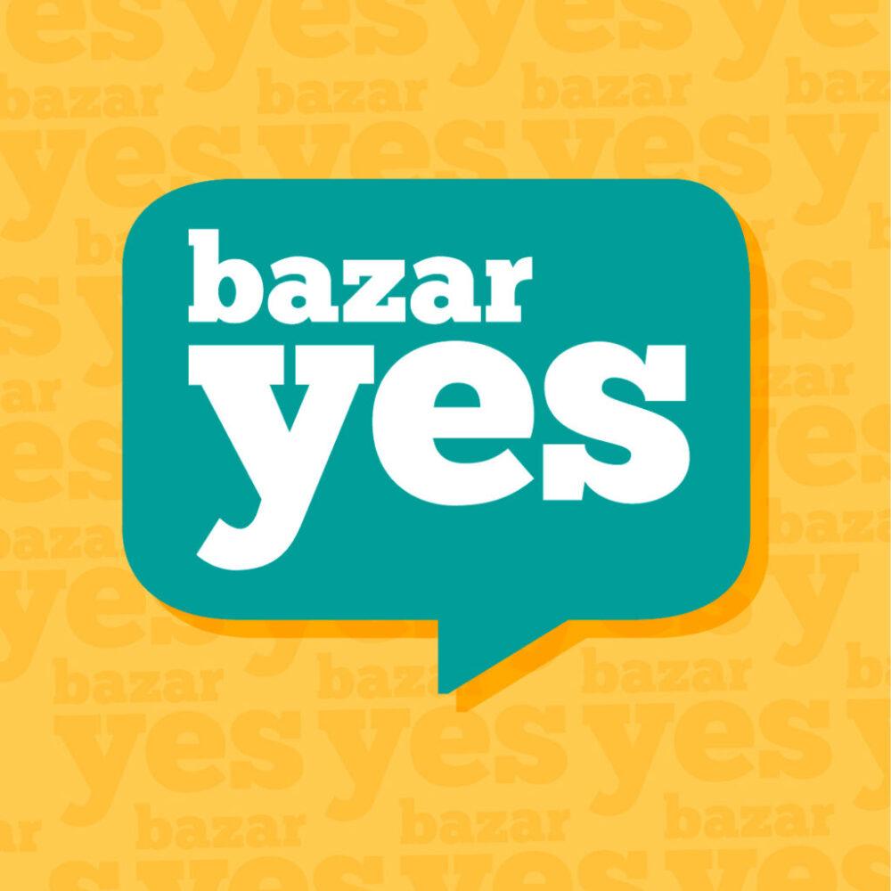 Logo bazar Yes diseño gráfico Minds Estudio