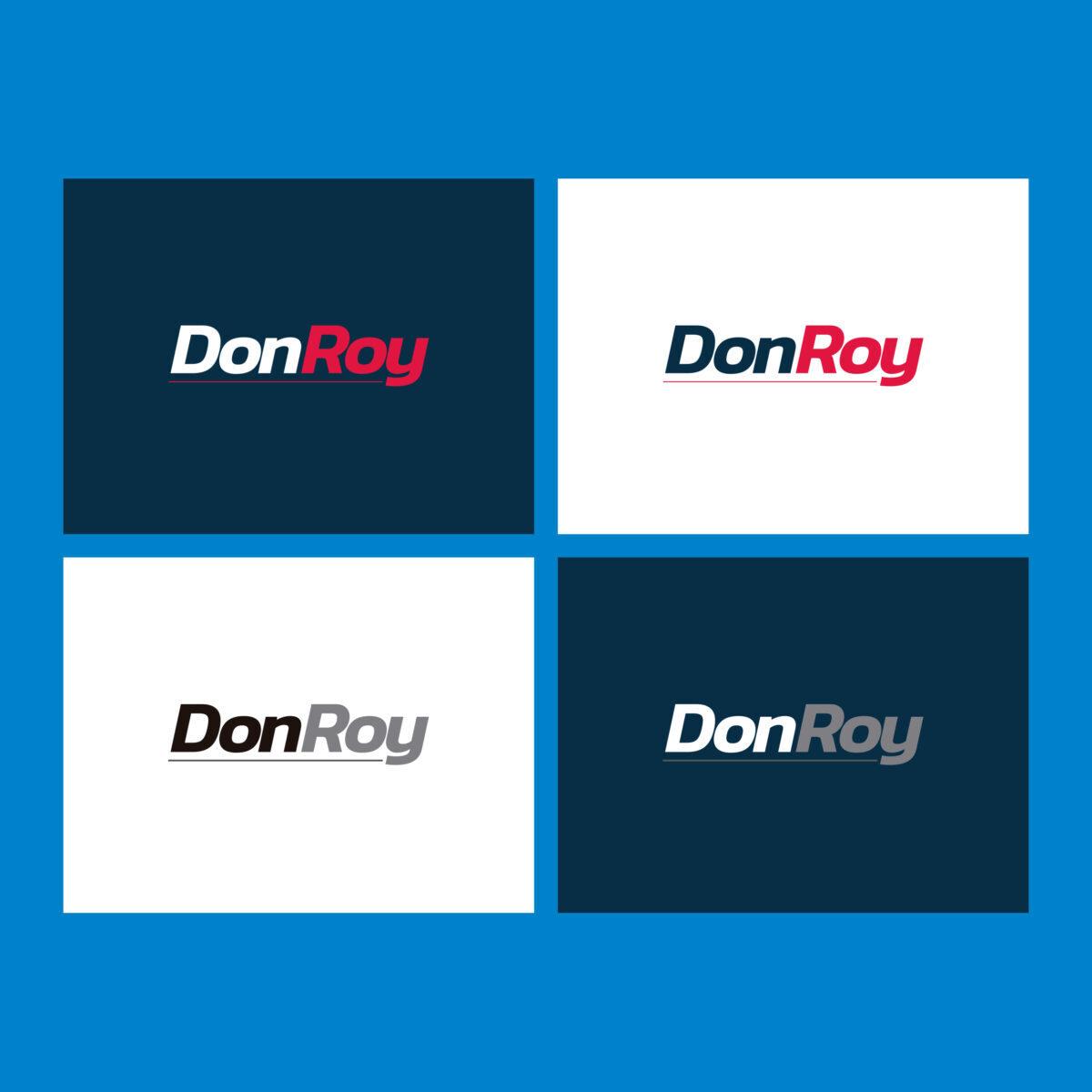 DonRoy diseño de logo